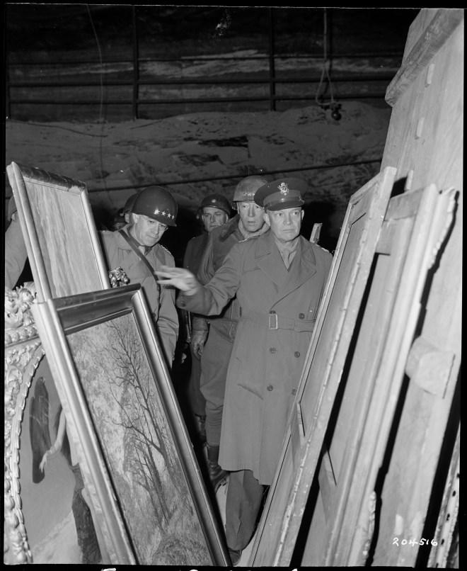 Eisenhower Bradley Patton tour Merkers