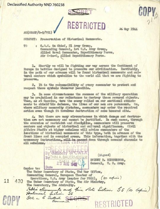 Eisenhower-May 1944