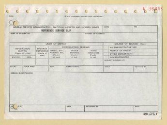 NAR Form 1, 1966