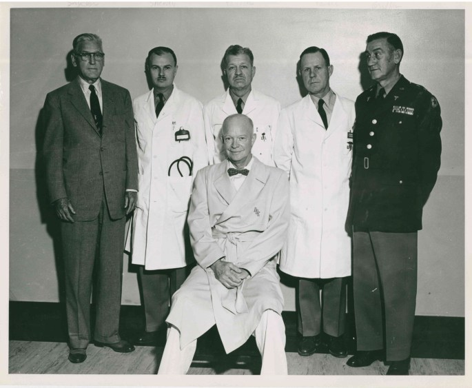 Ike With Doctors