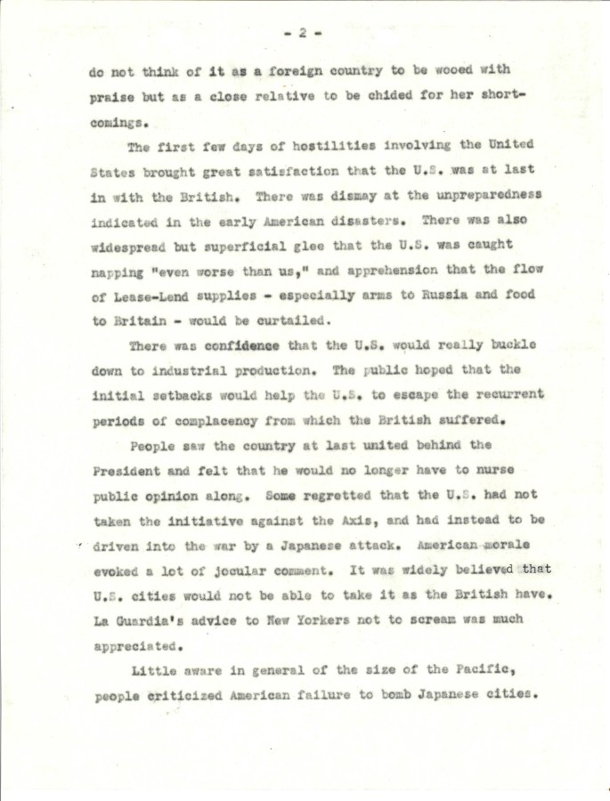 OWI.British opinion of US Jan 1942.3