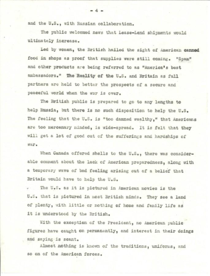 OWI.British opinion of US Jan 1942.5