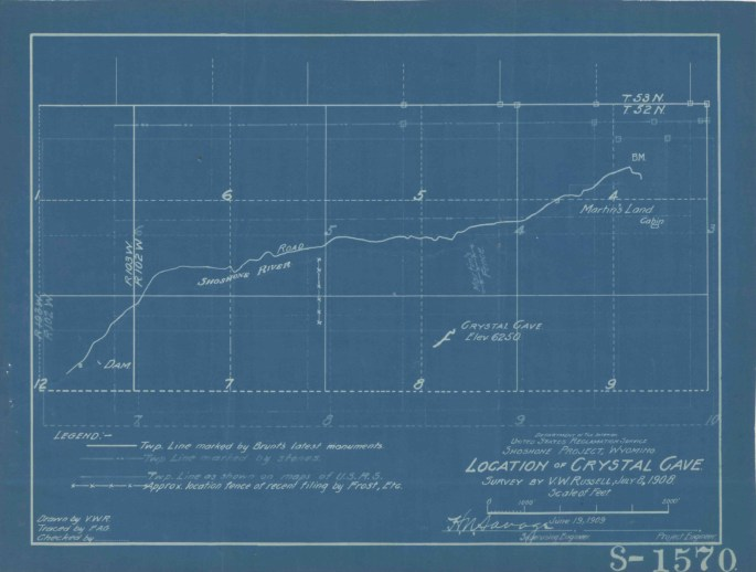 Image of blueprint drawing 1570