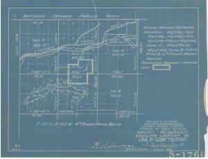 Images of blueprint drawings.