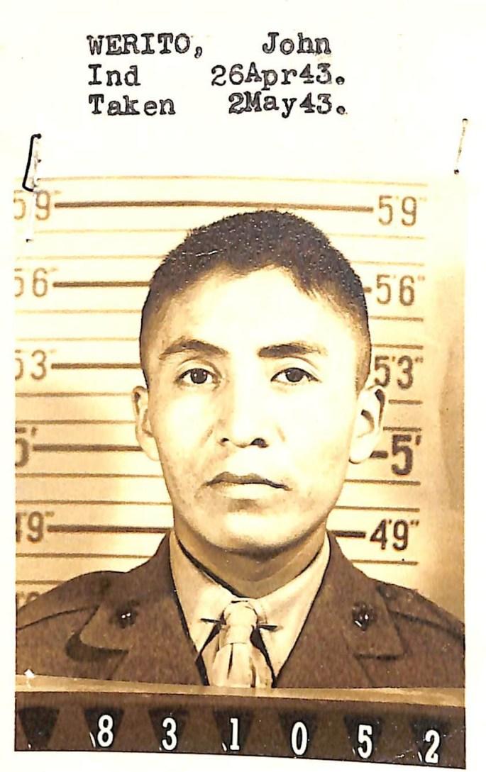 Photograph of John Werito.