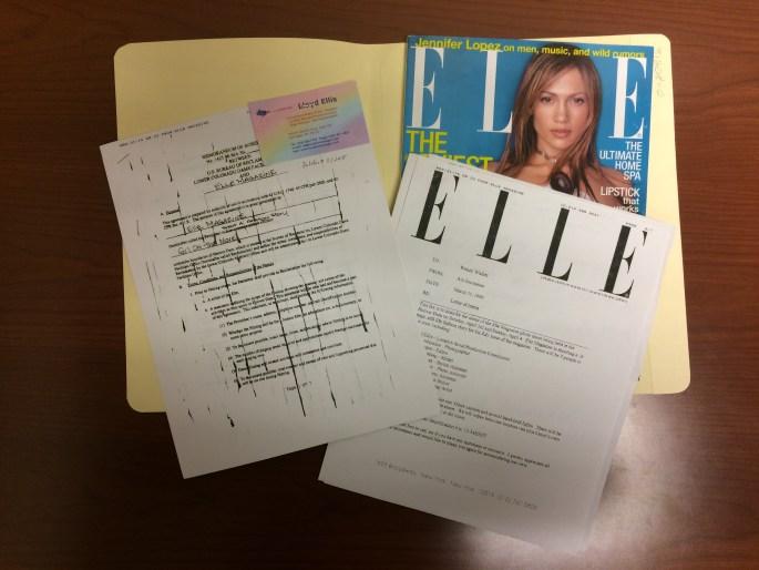 7 - Elle Magazine Folder