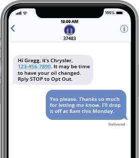 T2DConnect phone screen