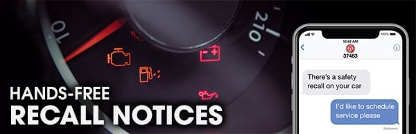 hands-free vehicle safety recall example