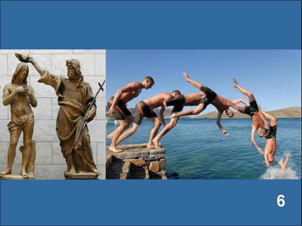 Le baptême, plongée dans le Christ