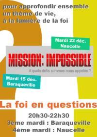 Soirée-débat, la foi en questions - décembre 2015