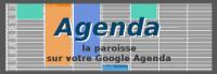 Agenda paroissial, pour ceux disposant d'un compte gmail