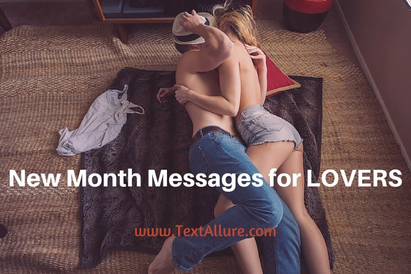 New month messages for lovers
