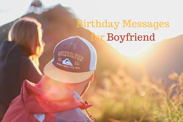 boyfriend's birthday