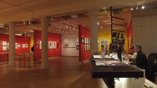 Exhibition space at the Leslie-Lohman Museum