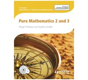 Image result for A Level pure mathematics 2 and 3 by sophie goldie