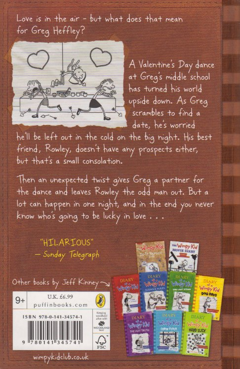Diary Of A Wimpy Kid The Third Wheel Text Book Centre