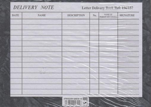 Letter Delivery Book 1 Quire Text Book Centre