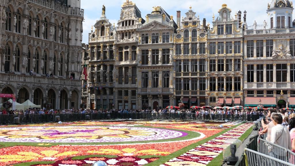 tapis de fleurs textes pretextes