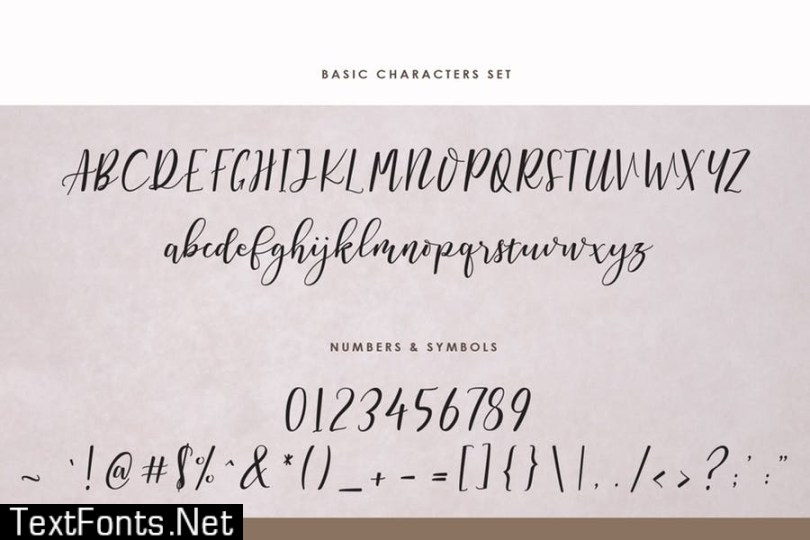 Sermellia Modern Calligraphy Typeface