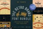 The Retro Brand Font Bundle 3590884