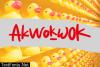 Akwokwok Font