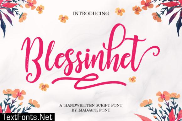 Blessinhet Font