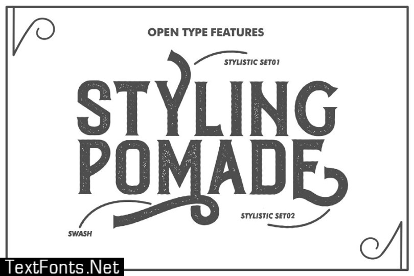 Roister Typeface 617881
