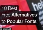 10 Best Alternatives to Popular Fonts