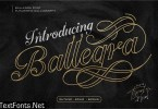 Ballegra Delicious Calligraphy 3323152
