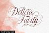 Delicia Fairly Font
