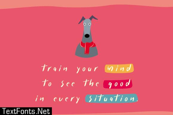 Hipster Dog Font