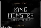 Kind Monster Font