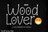 Wood Lover Font