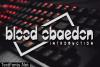 BloodObaedon Font