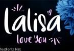 LalisaLoveYou Font