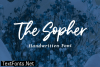 The Sopher Font