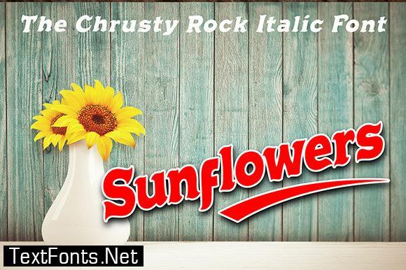 Chrusty Rock Font