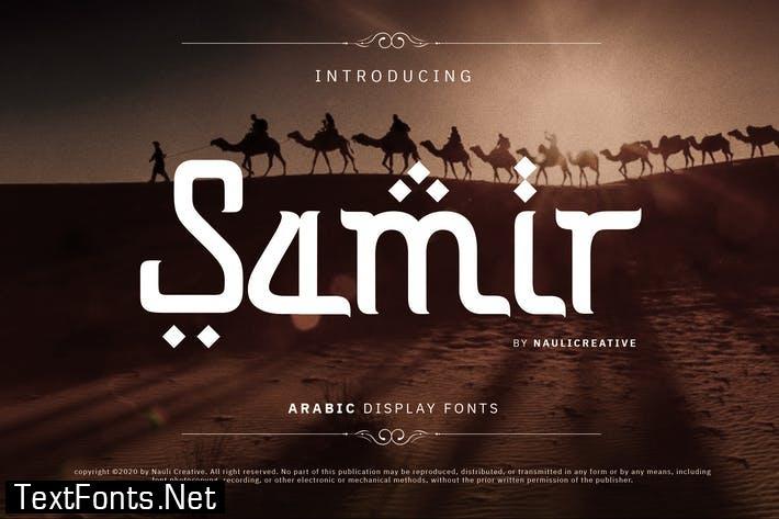 Samir - Elegant Arabic Style Font
