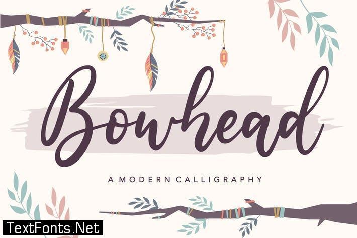 Bowhead YH - Modern Script Font