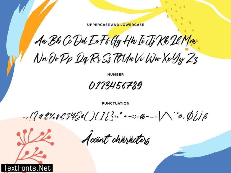 Daily Planet YH - Modern Script Font