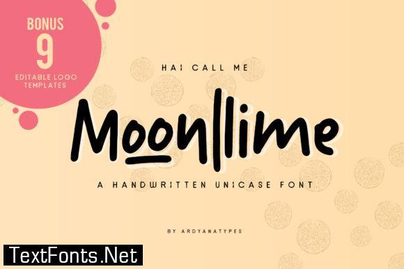 Moonllime Font
