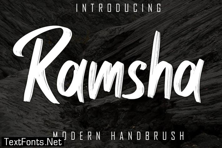 Ramsha Modern Handbrush