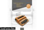 Selectric Adjutant Font