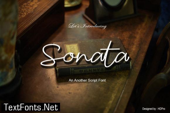 Sonata Font