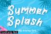 Summer Splash Font