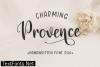 Charming Provence Font