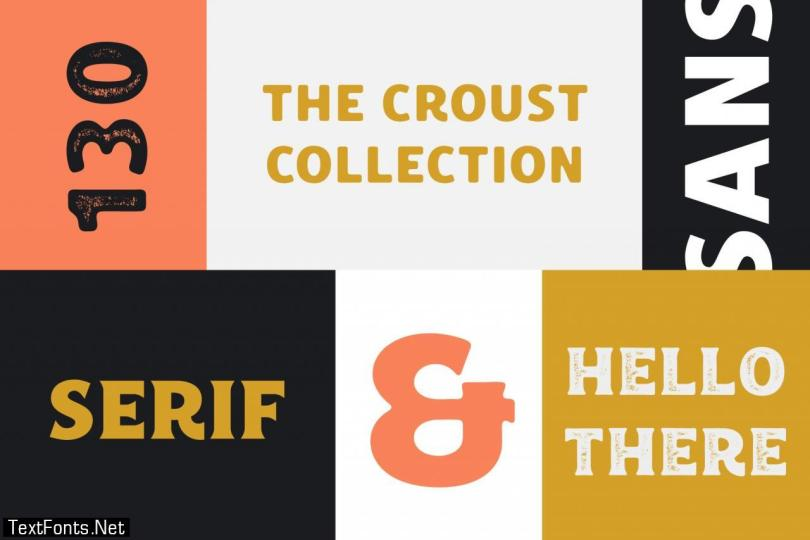 Croust Font Collection 2501967