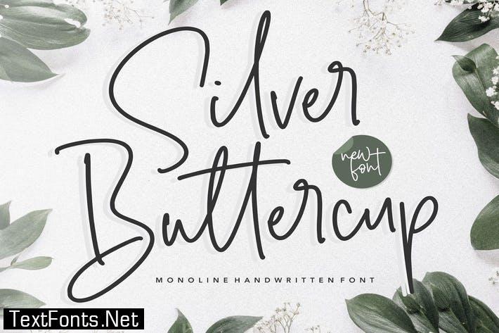 Silver Buttercup YH - Modern Handwritten Font