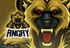 Angry Hyena Esport Logo