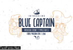 Blue Captain Font